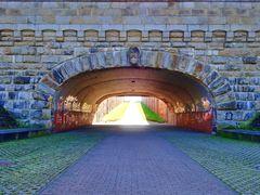 Ich sehe Licht am Ende des Tunnels :-) Altes Schiffshebewerk Henrichenburg in Waltrop