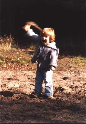 Ich selbst als kleiner Junge.