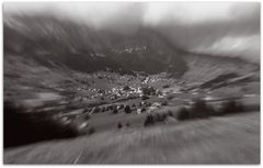 Ich Träume von den Alpen in der  Schweiz