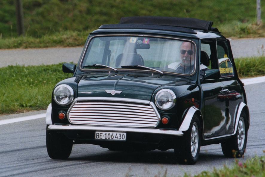 Ich und mein Classic Mini