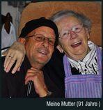 Ich und Mutti ( 91 Jahre alt)
