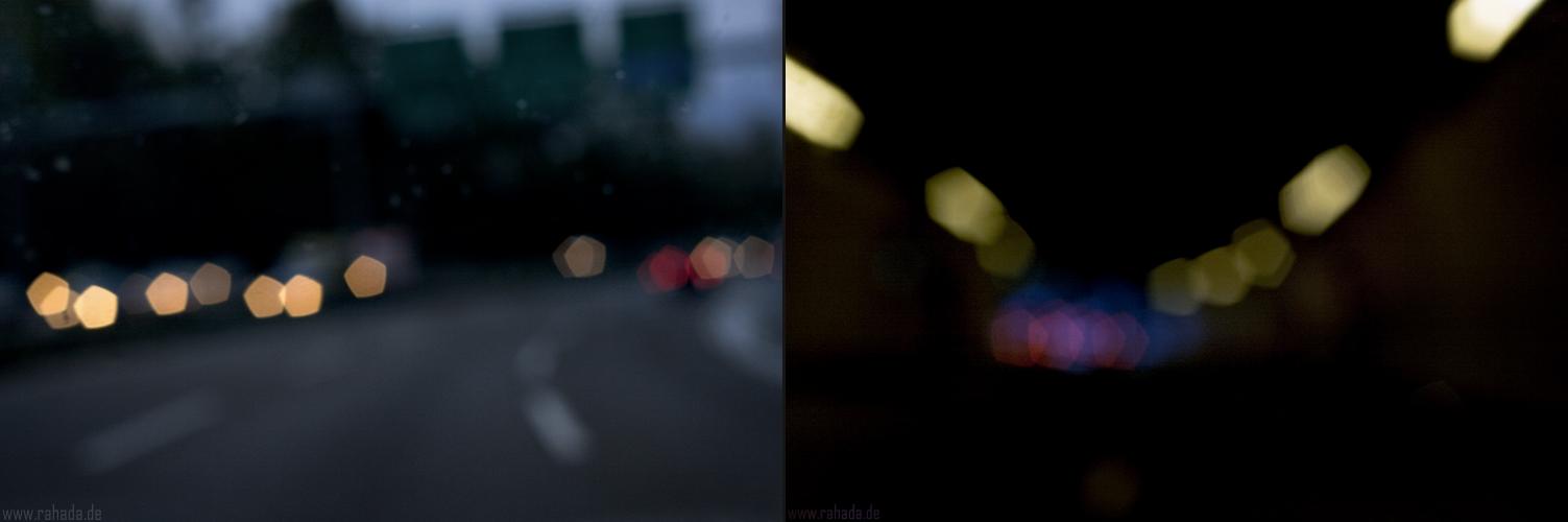ich werde müde, wenn abends im Auto Musik läuft