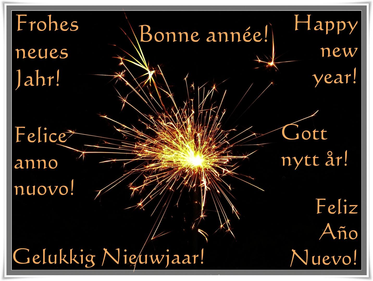 Ich wünsche allen...