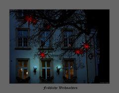 Ich wünsche allen ein friedliches und gesundes Weihnachtsfest