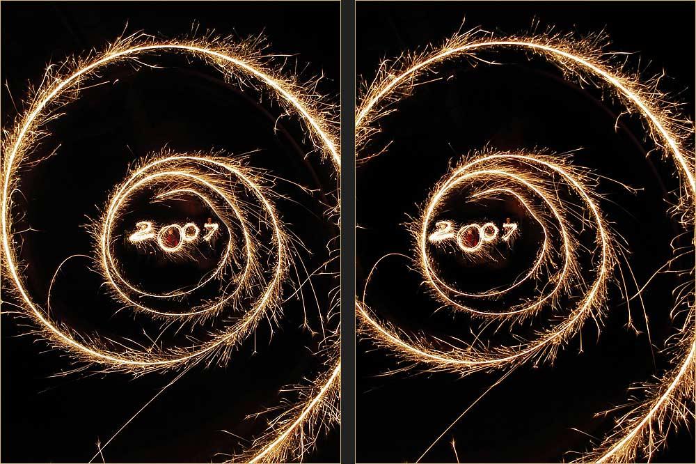 Ich wünsche allen ein kreatives Fotojahr 2007...