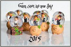 Ich wünsche allen einen ganz tolles Jahr 2015