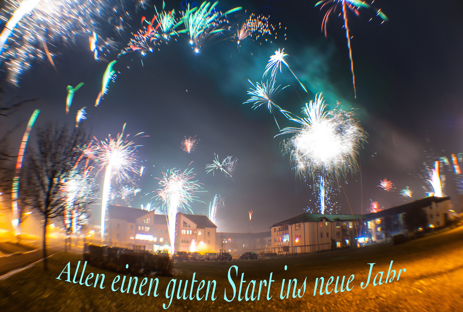 Ich wünsche Allen einen guten Start ins neue Jahr. Foto & Bild ...
