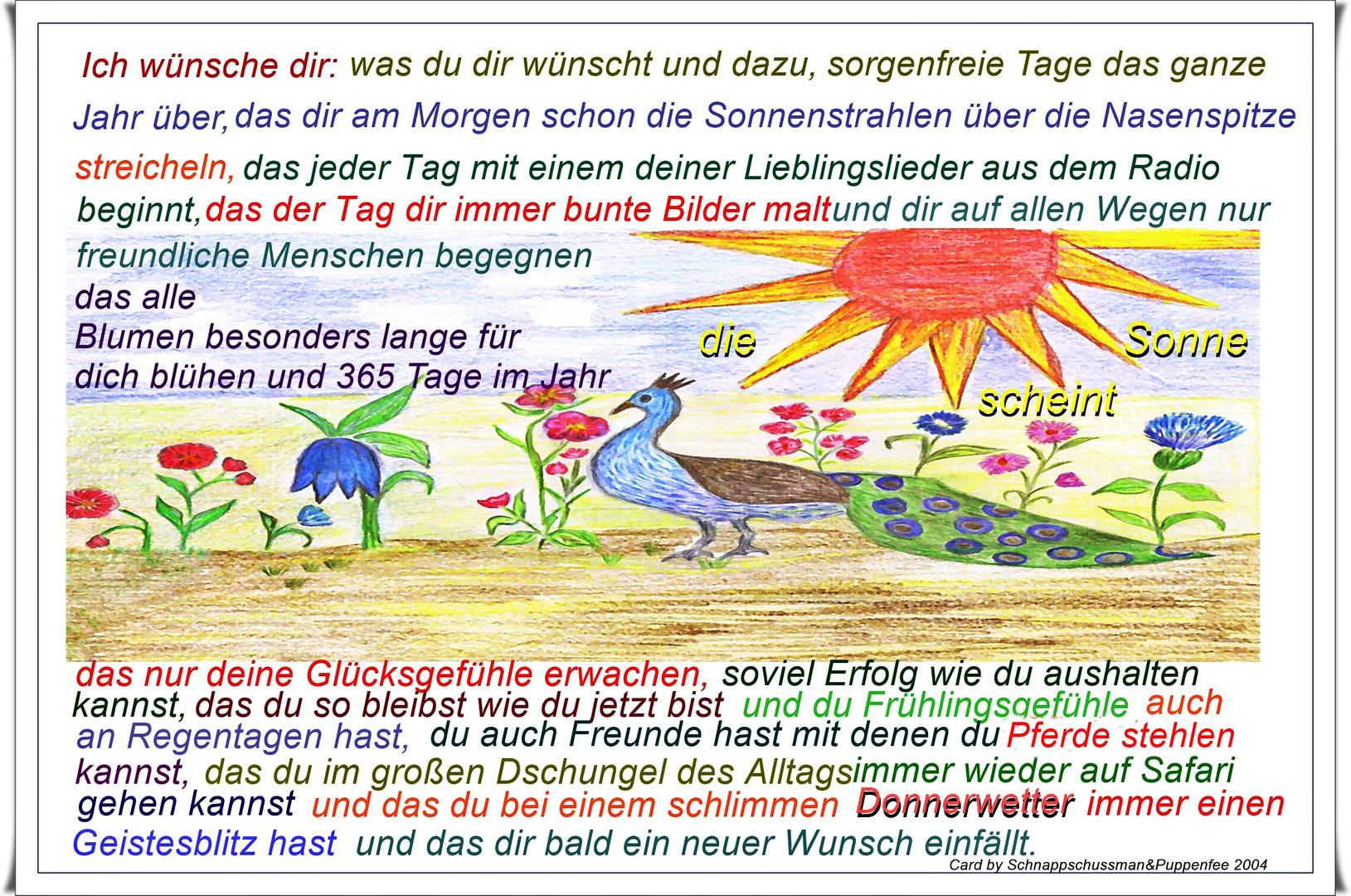 Ich wünsche Dir... Foto & Bild | karten und kalender ...