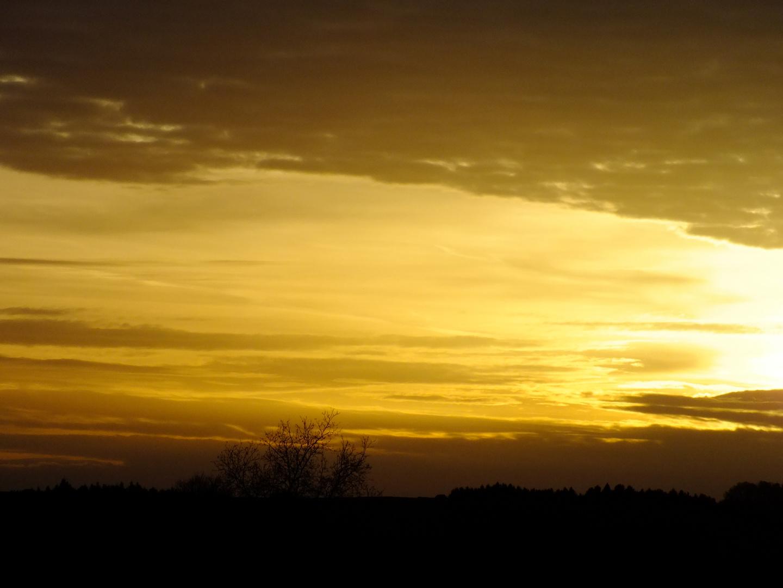 Ich Wünsche Dir Einen Schönen Abend Foto Bild Landschaft