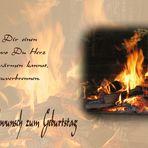 Ich wünsche Dir einen warmen Ort...