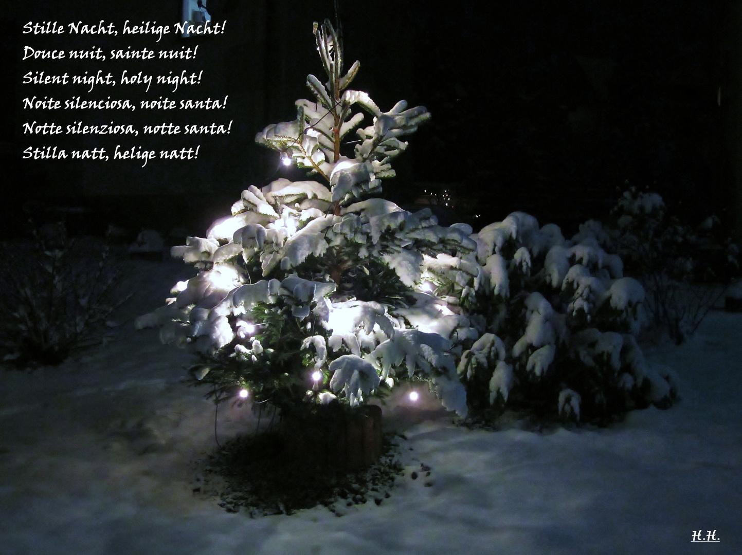 Ich wünsche ein gesegnetes und friedliches Weihnachtsfest!
