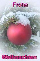 Ich wünsche Euch Allen ein schönes und besinnliches Weihnachtsfest
