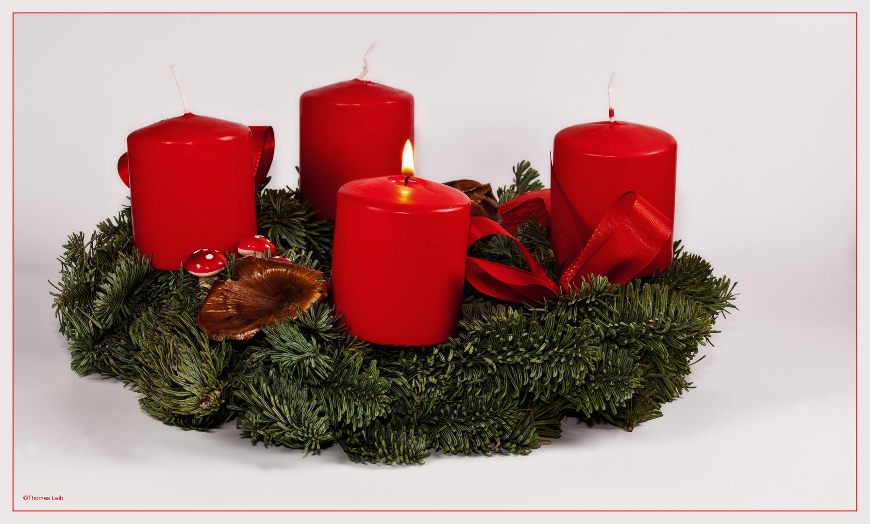 Ich wünsche euch allen eine besinnliche Adventszeit