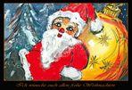 Ich wünsche euch allen frohe Weihnachten,