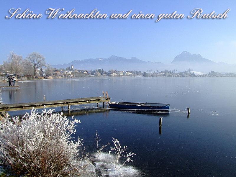 Ich wünsche euch allen ruhige Weihnachten und einen stressfreien Rutsch!