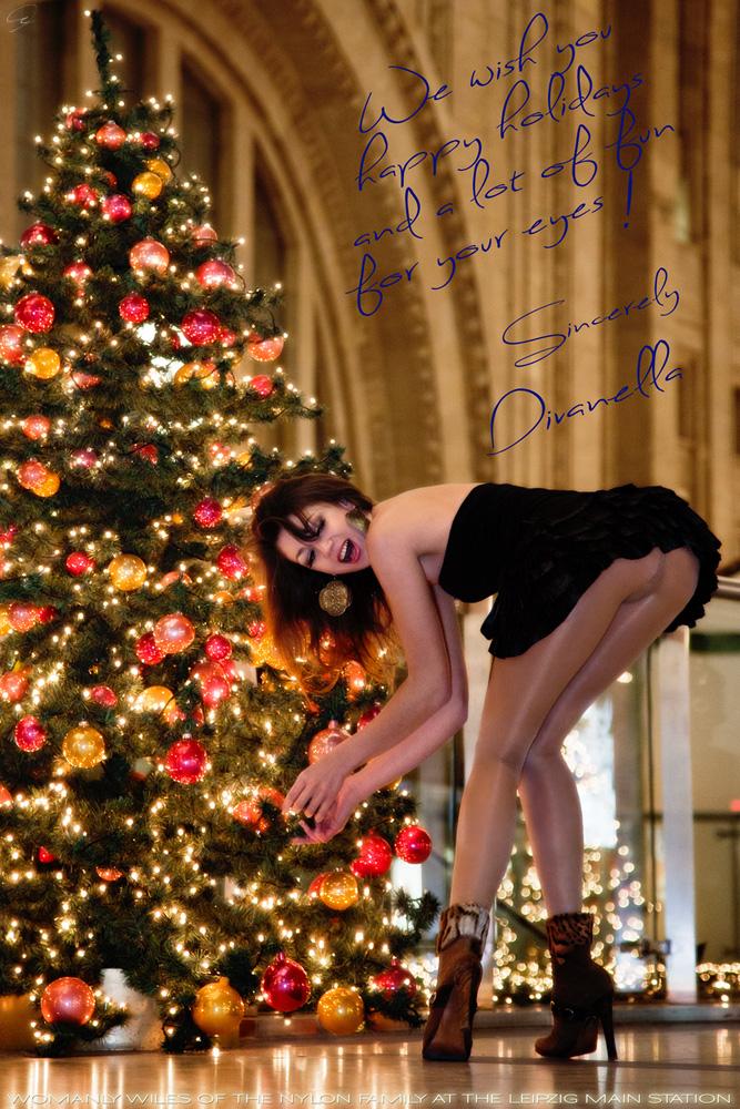 Ich wünsche euch frohe Weihnachten und guten Rutsch! Foto & Bild ...