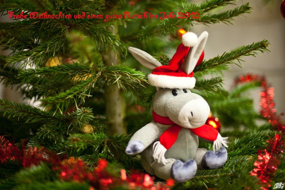 Ich wünschen Euch allen eine schöne Weihnacht und ein guten Rutsch ...