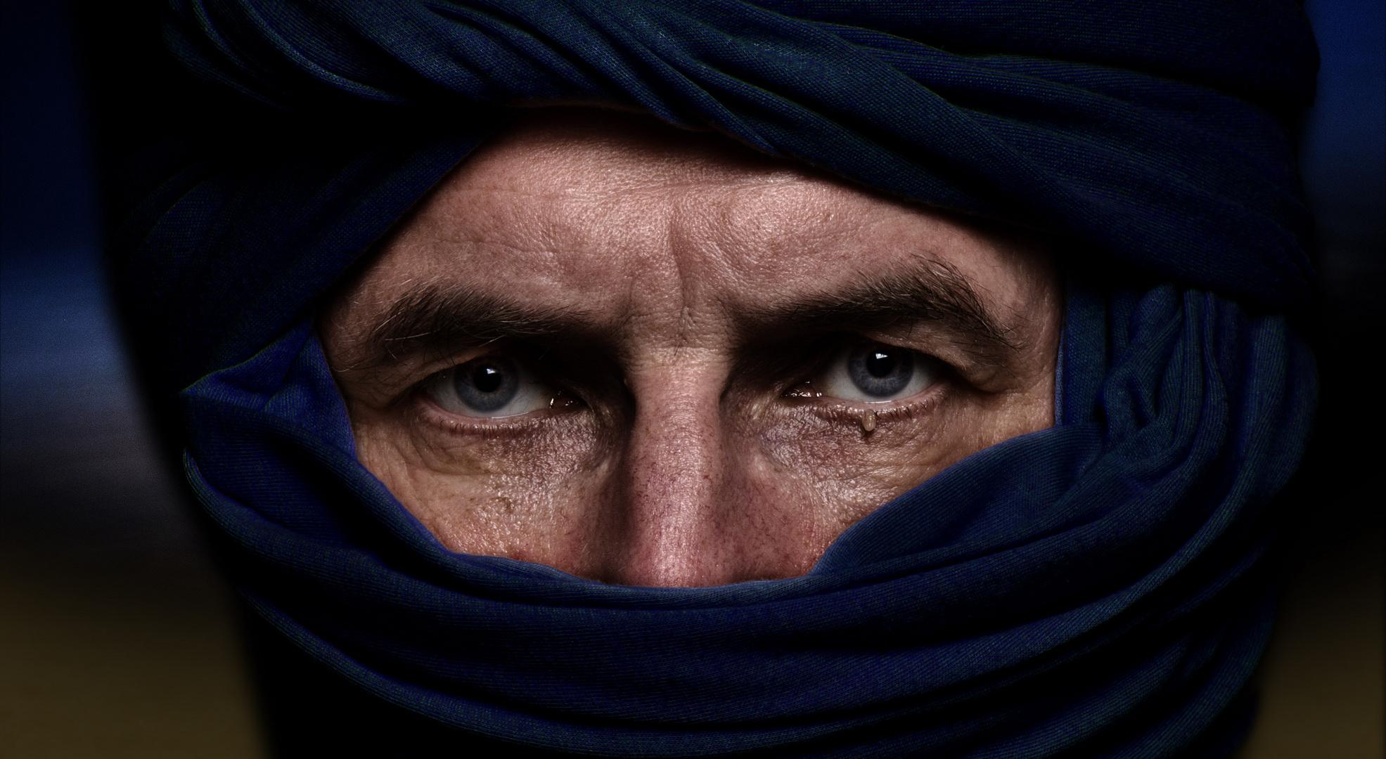 Icke als nachgeahmter Tuareg