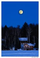 Icy Blue Hour