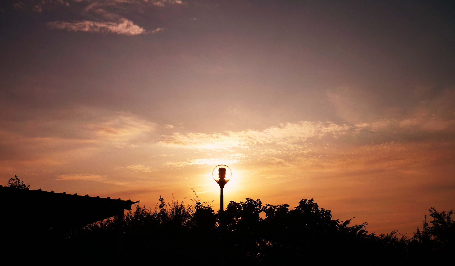 Idea al tramonto