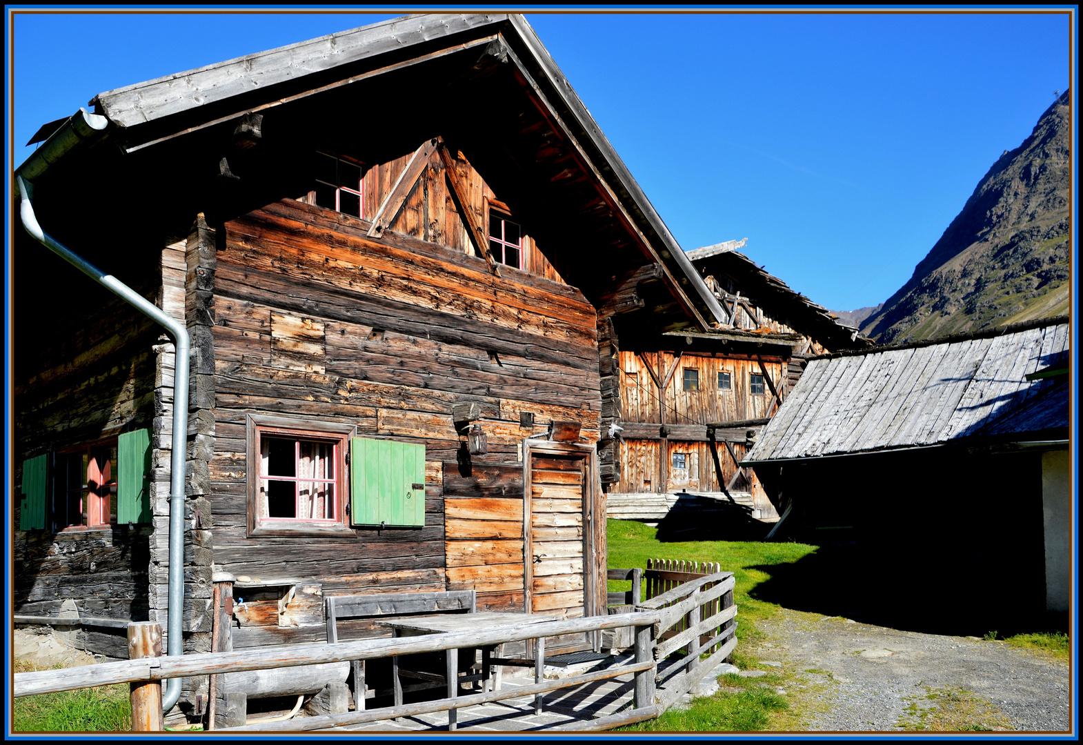 Idyll im Schnalstal ( Südtirol )