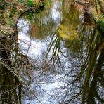 Idylle am Alster-Kanal