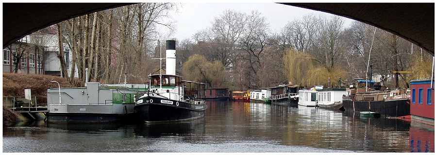Idylle am Landwehrkanal
