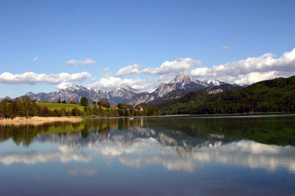 Idylle des Weißensee