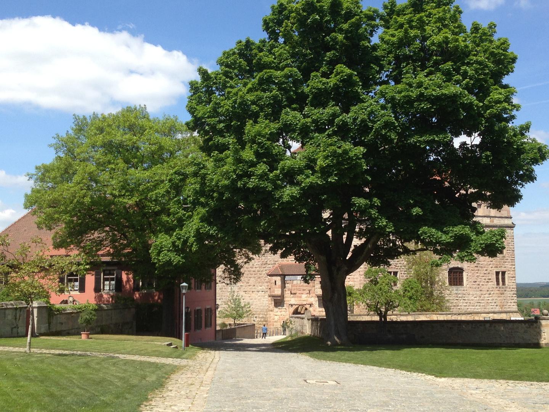 idylle im Burggarten