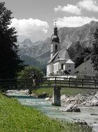 Idyllische Alpenlandschaft