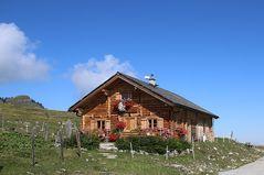 Idyllische Berghütte