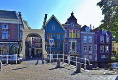 - idyllische Ecke in Alkmaar ...