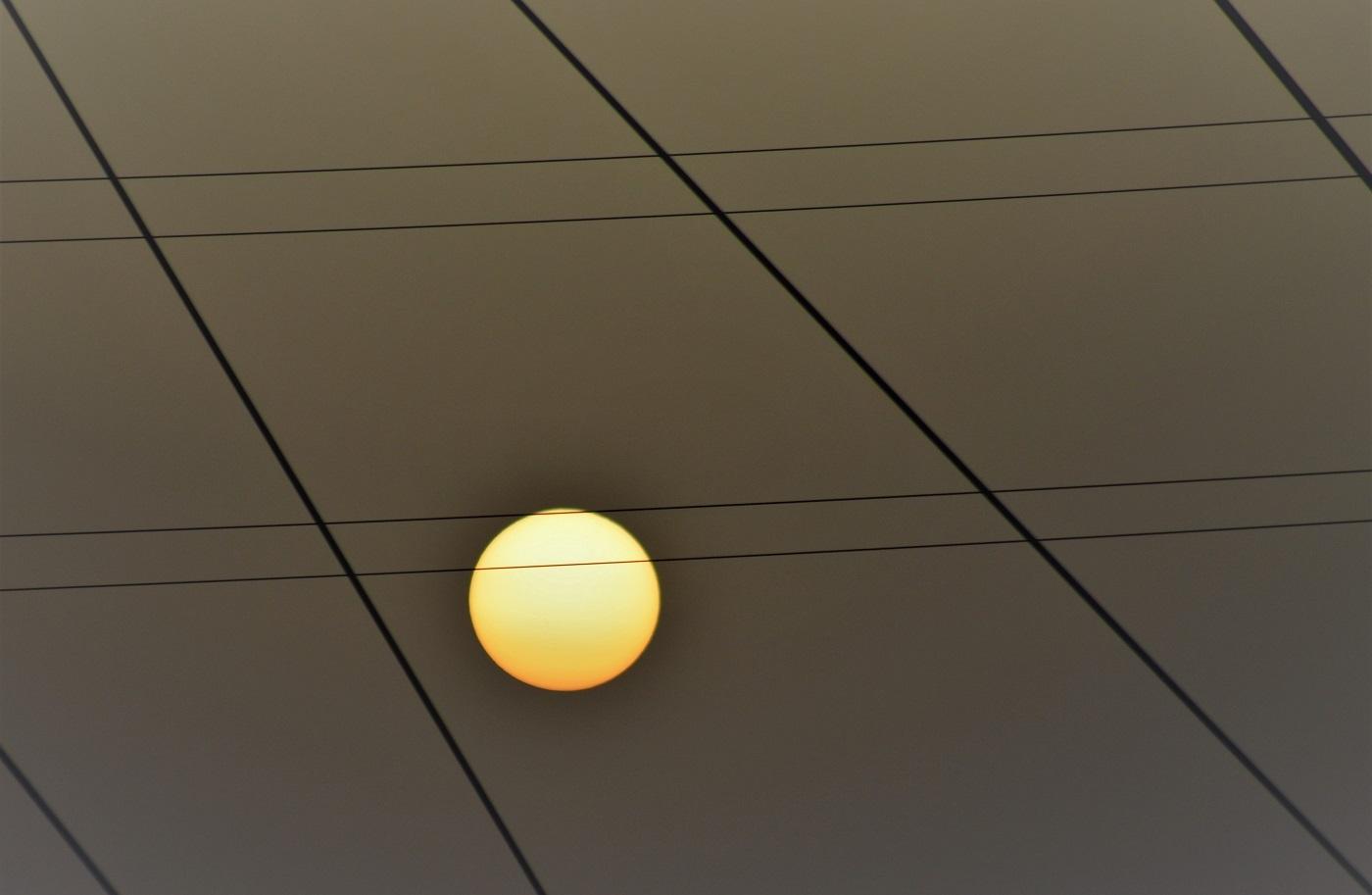 Ieri...il sole