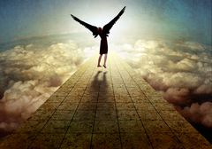 If we had wings, we could fly... I wish I could!
