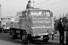 IFA-Truck L60 - 1/4 kaputt