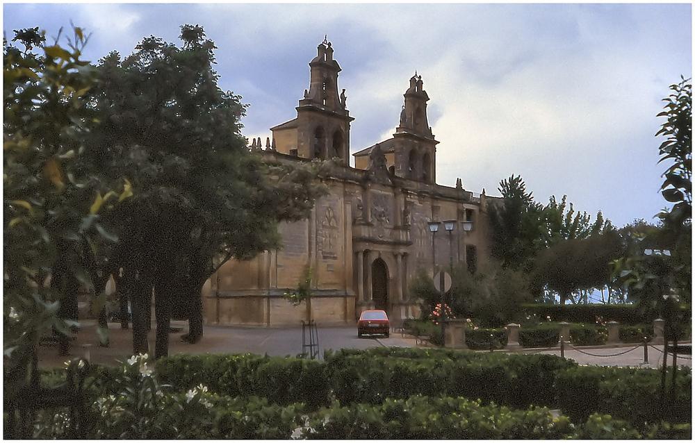 Iglesia a Ubeda.