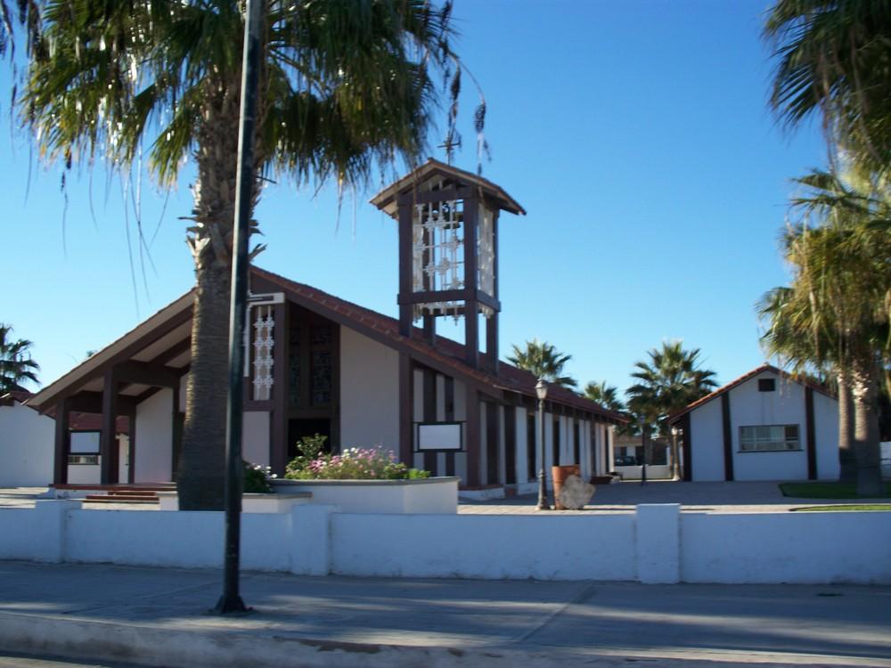 Iglesia de la Virgen de Guadalupe en Gerrero Negro, B.C.S.