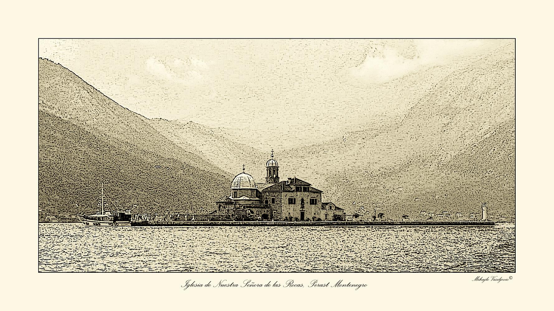 Iglesia de Nuestra Señora de las Rocas Perast Montenegro