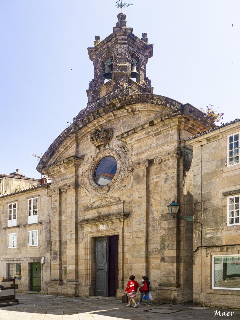 Iglesia parroquial de Sta María del Camino.