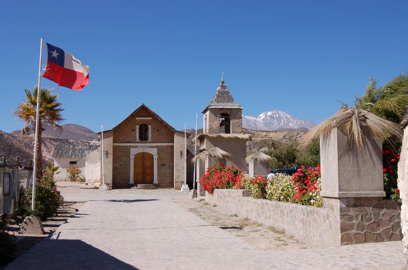 Iglesia y Pueblo de Socoroma