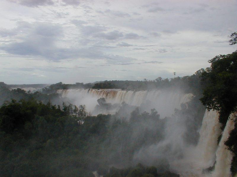 IGUAZU Fälle in Brasilien