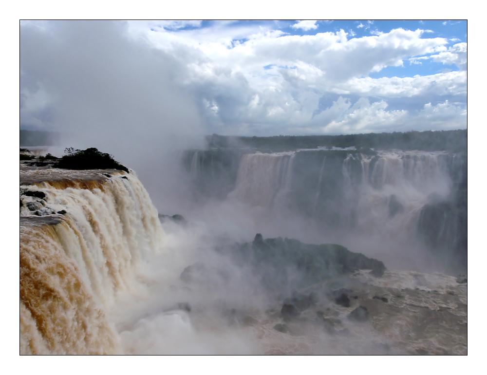 Iguazu - Schlund des Teufels