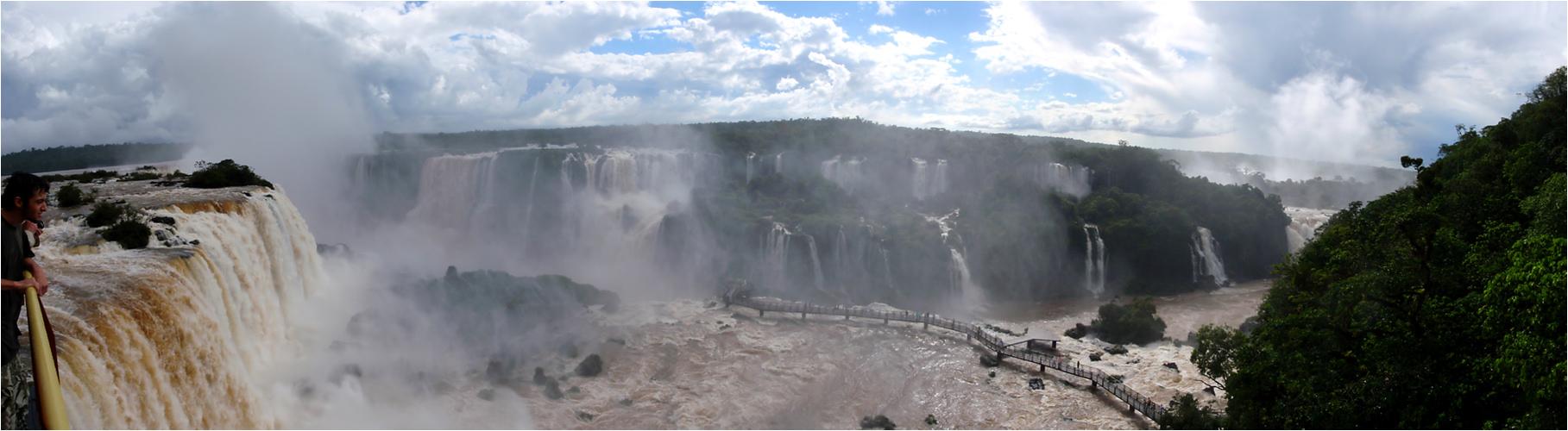 Iguazu - Teufelsschlucht (Brasilien)