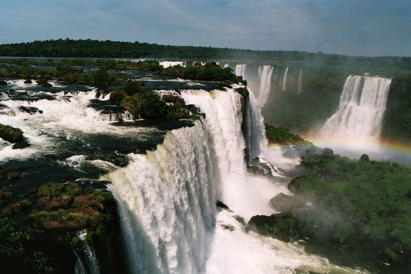 Iguazú Wasserfälle, Teufelsrachen - Cataratas del Iguazú, Garganta del Diablo
