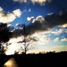 Ihlow beim Sonnenuntergang