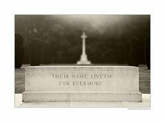 - Ihre Namen leben für immer -