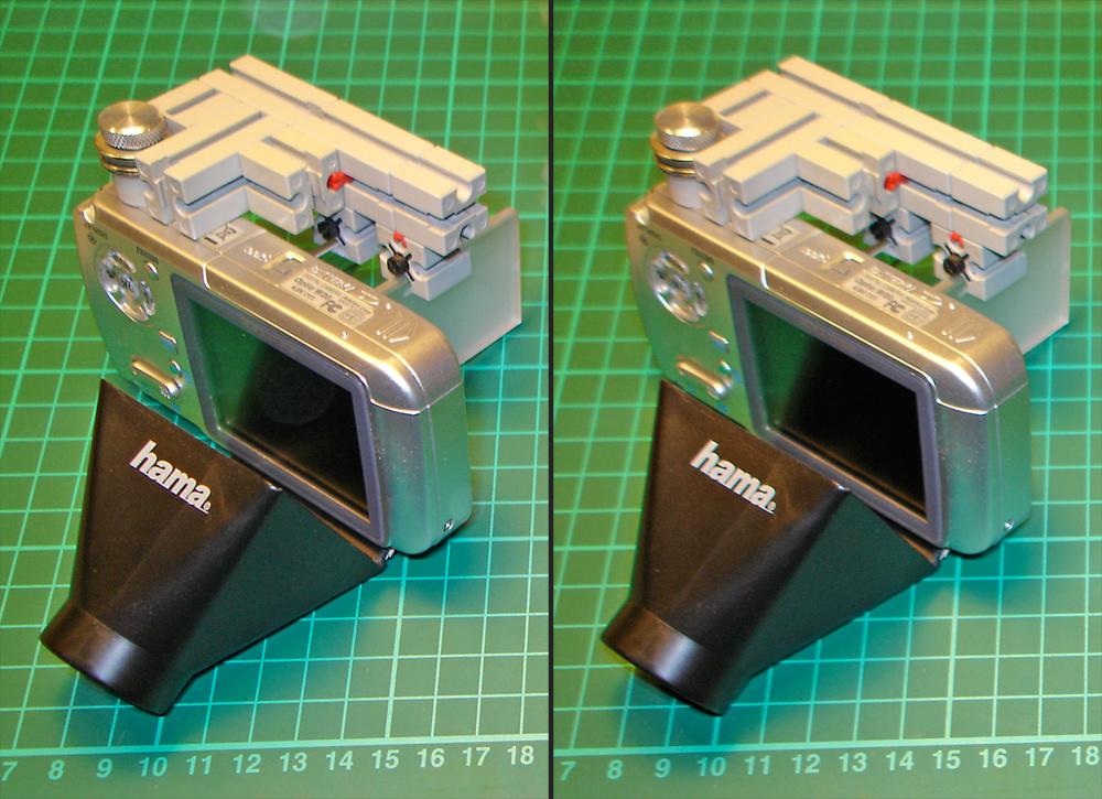 II-Spiegel-Einzelkamera-Baudetails, Unterseite