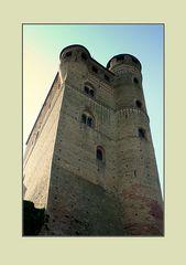 IIl castello di Serralunga d'Alba nelle Langhe