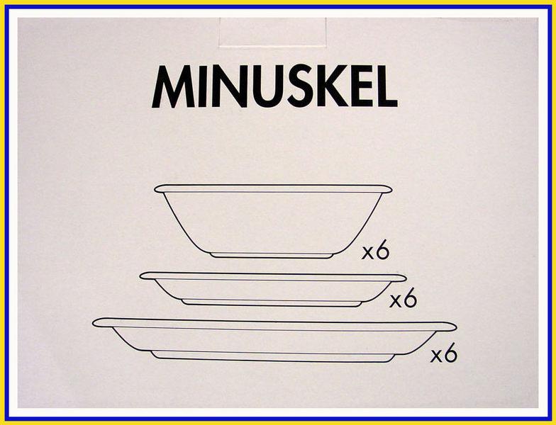 IKEA 10 - MINUSKEL