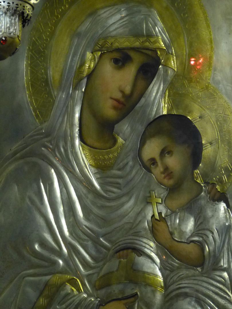 Ikone aus alter ortodoxer Kirche aus Galati an der Donau (Moldova)